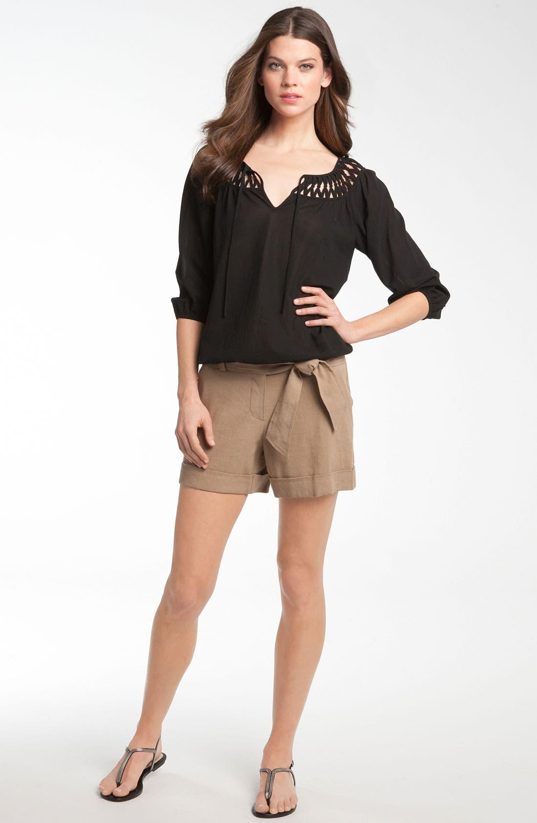 Alternate Image 3  - Trina Turk 'Alto Cinco' Cuff Shorts