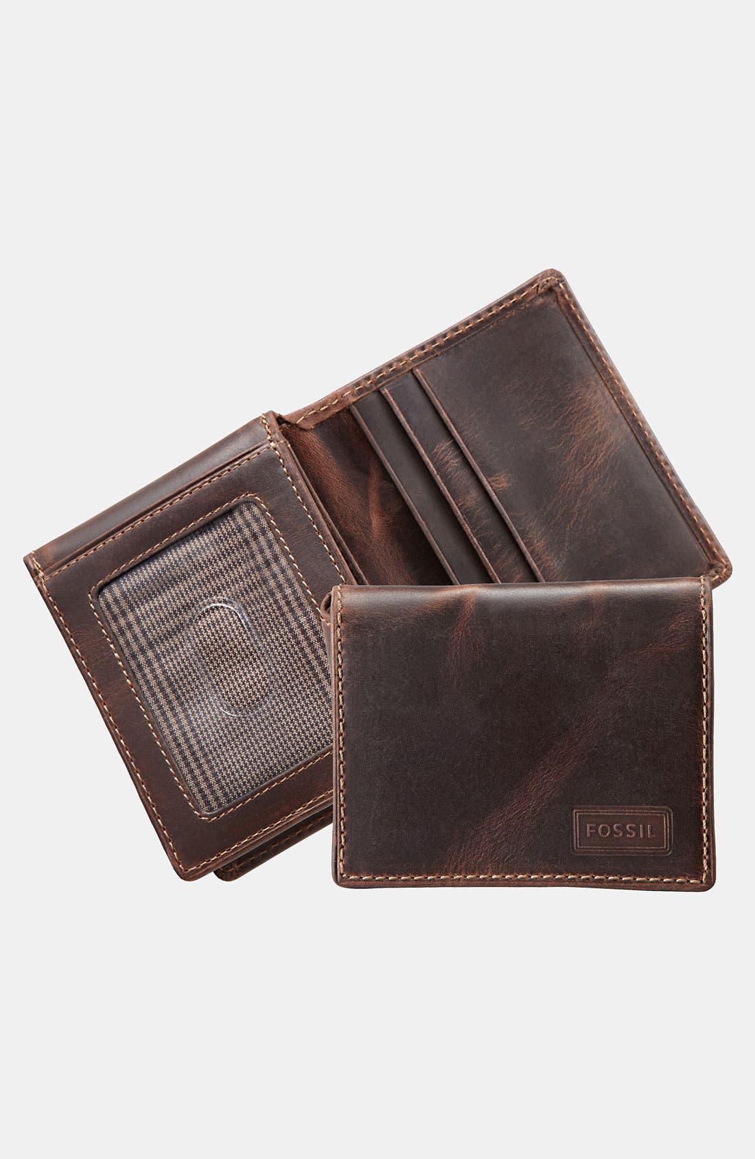Alternate Image 1 Selected - Fossil 'Sam' Execufold Wallet