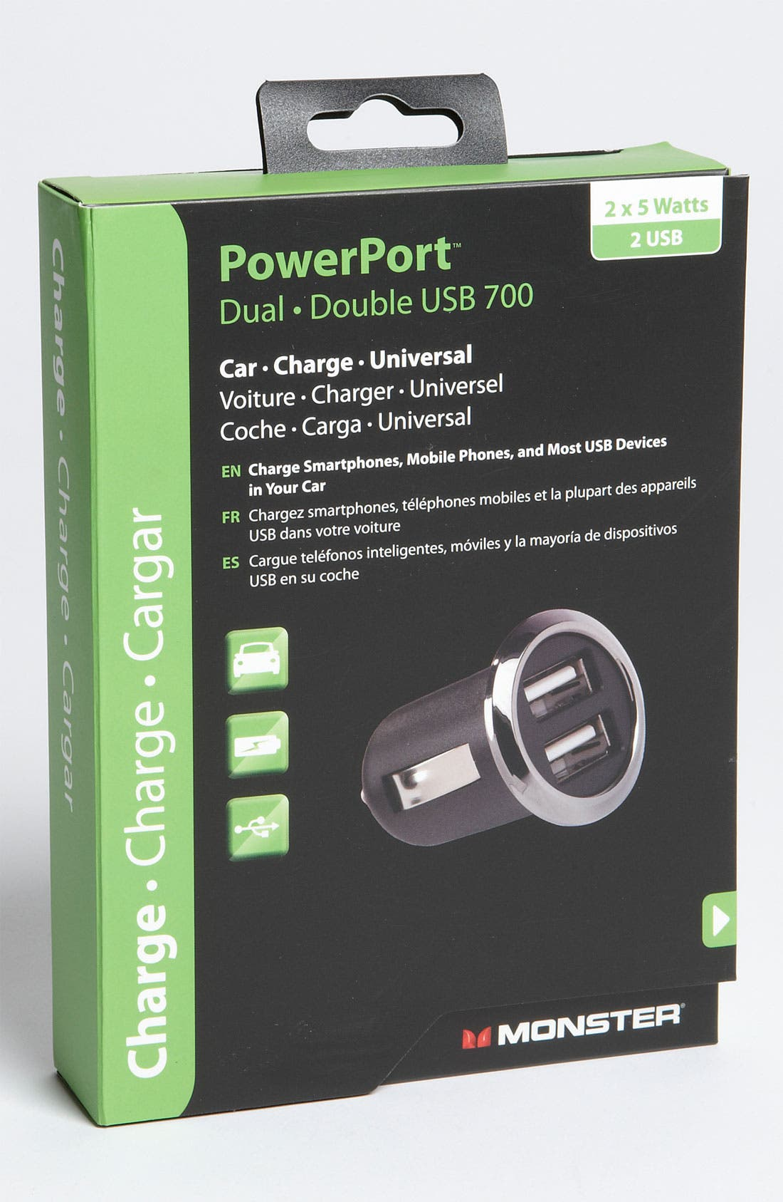 Alternate Image 2  - Monster 'Double USB 700 PowerPort™' Car Charger