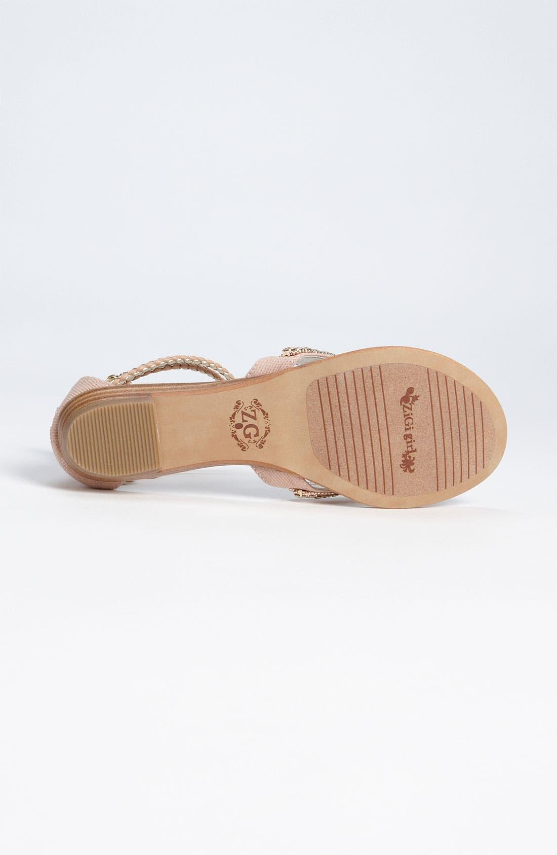 Alternate Image 4  - ZiGi girl 'Marla' Sandal