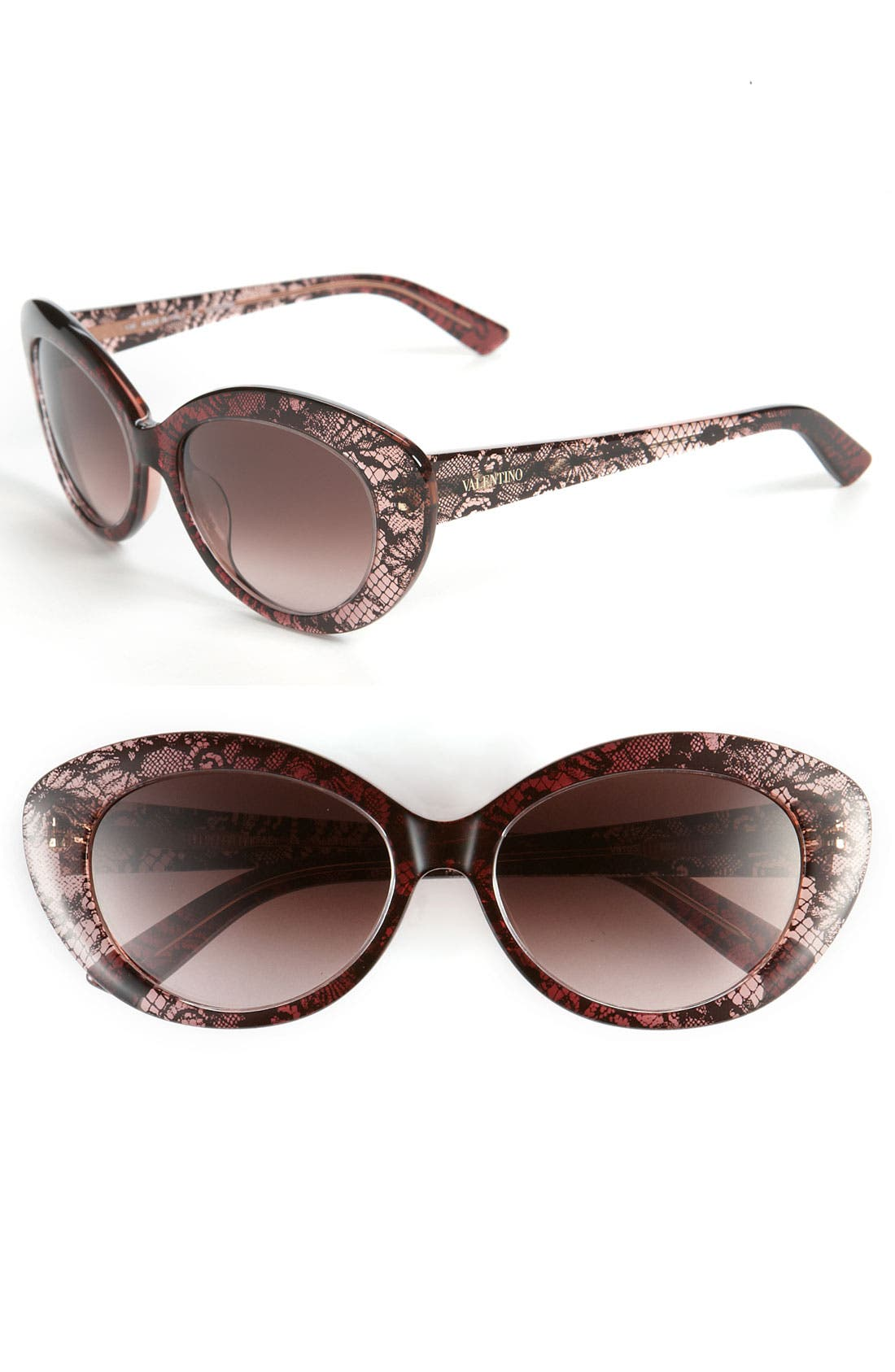 Main Image - Valentino Cat's Eye Sunglasses