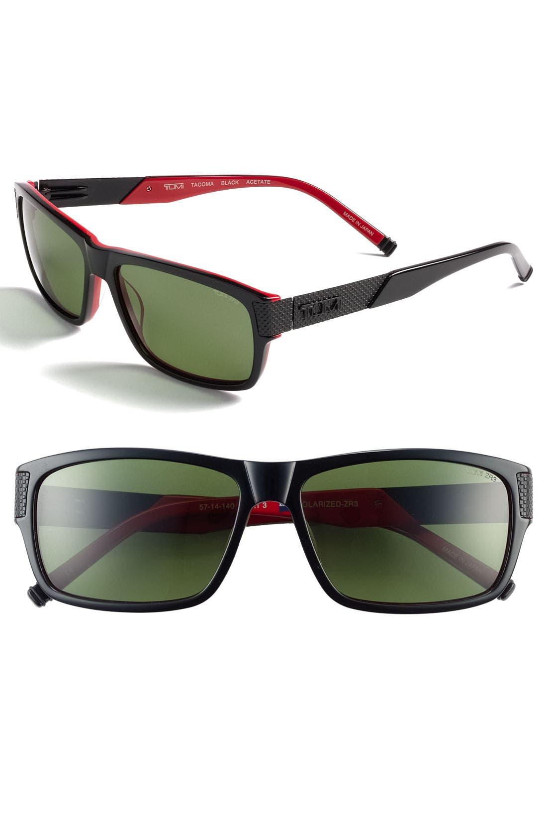 Main Image - Tumi 'Tacoma' Polarized Sunglasses