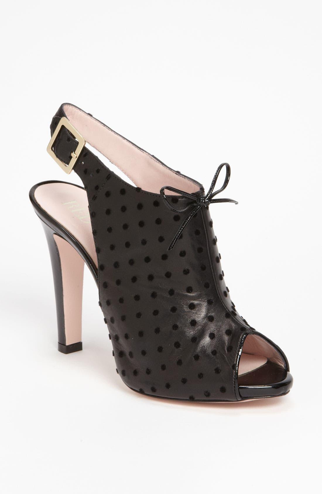 Main Image - RED Valentino Peep Toe Sandal