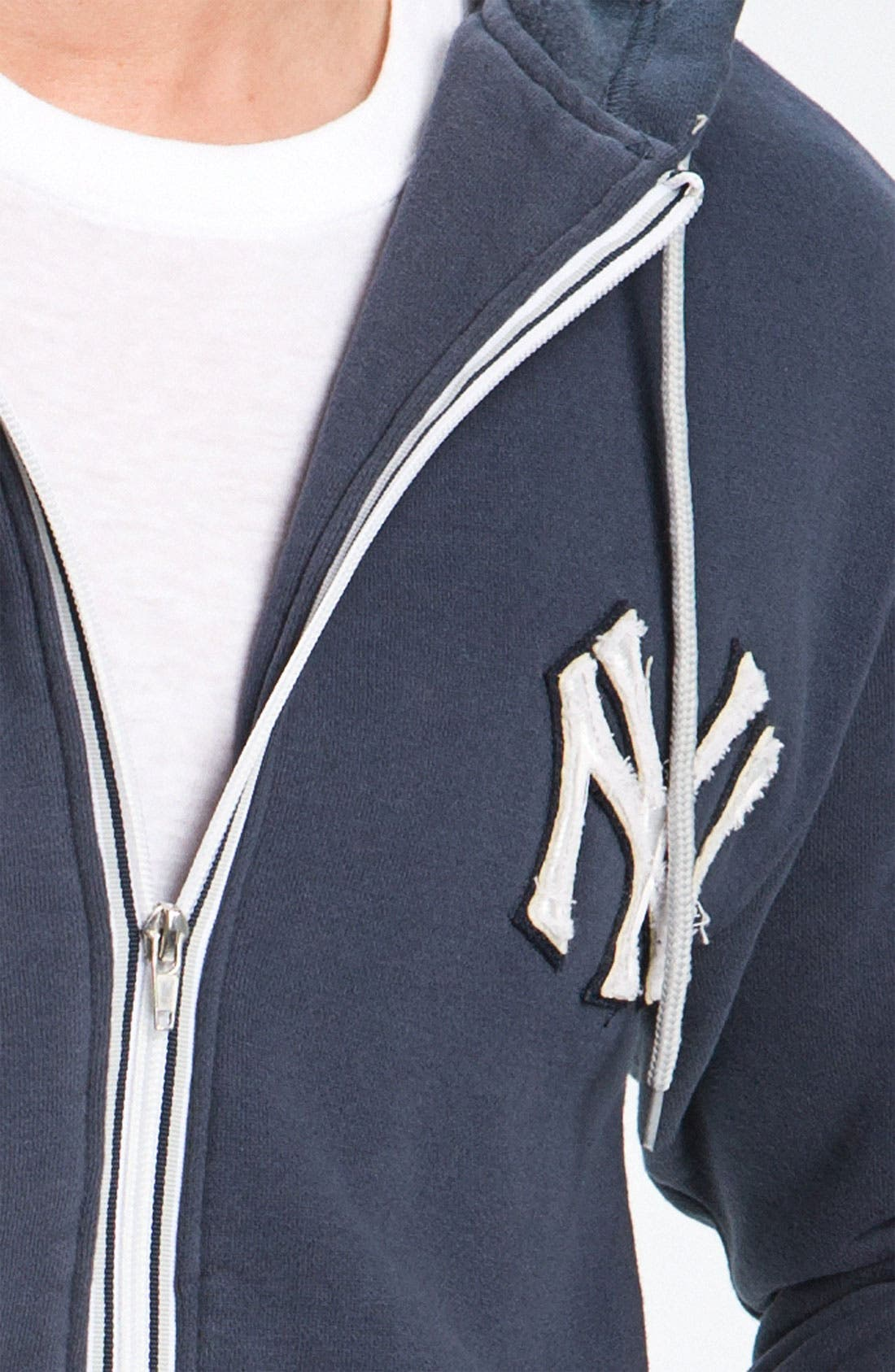 Alternate Image 3  - Wright & Ditson 'New York Yankees' Hoodie