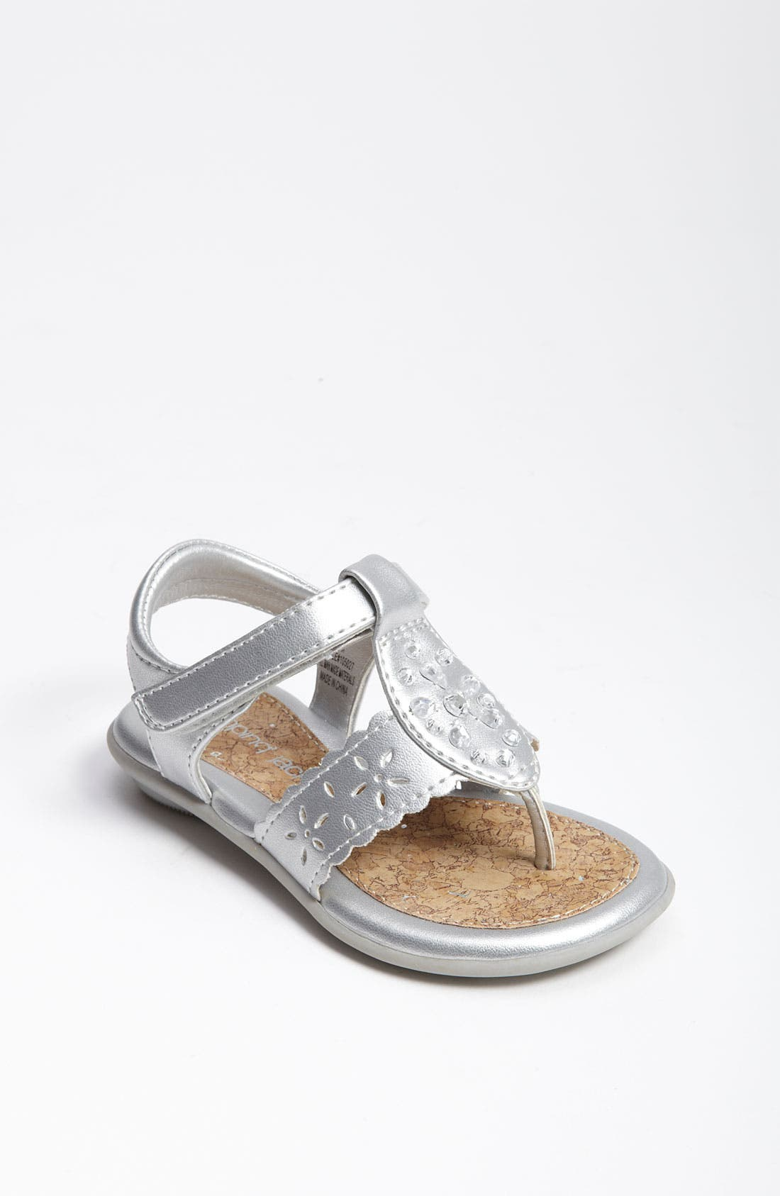 Alternate Image 1 Selected - Jumping Jacks 'Christy' Sandal (Walker, Toddler, Little Kid & Big Kid)