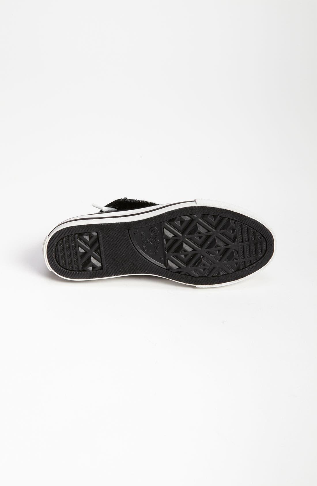 Alternate Image 4  - Converse 'Sparkle' Mega Tongue Sneaker (Toddler, Little Kid & Big Kid)