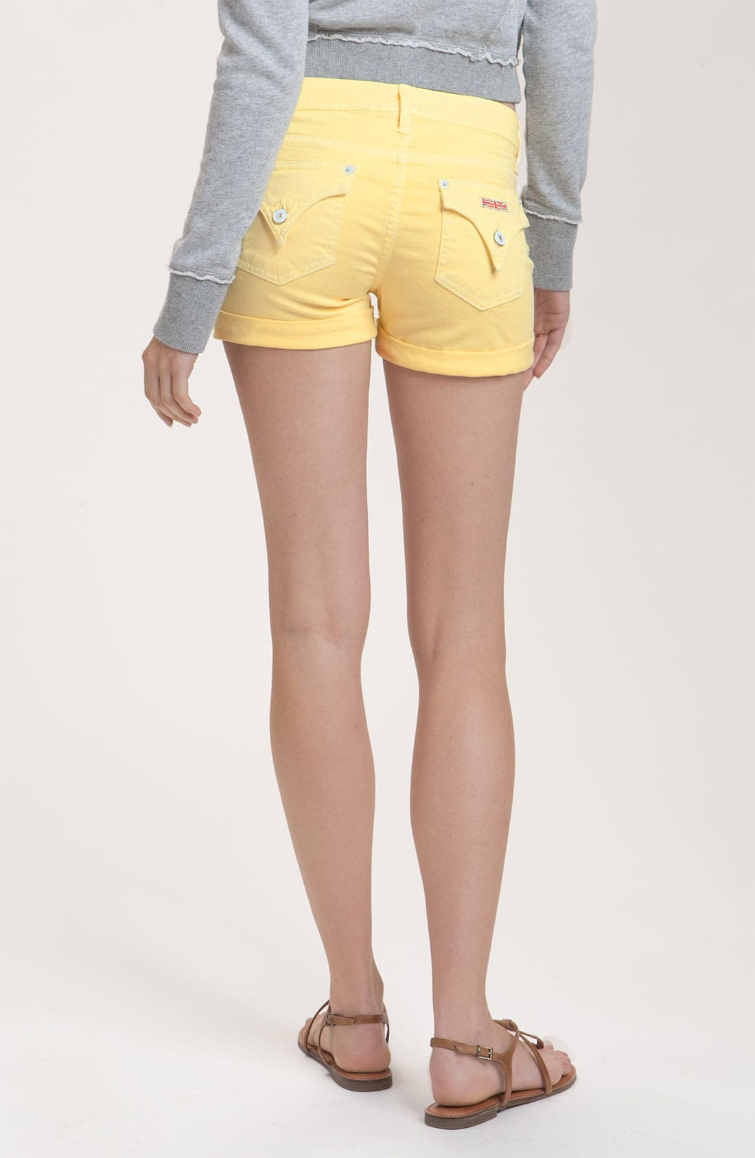 Alternate Image 2  - Hudson Jeans 'Hampton' Denim Shorts (Banana)