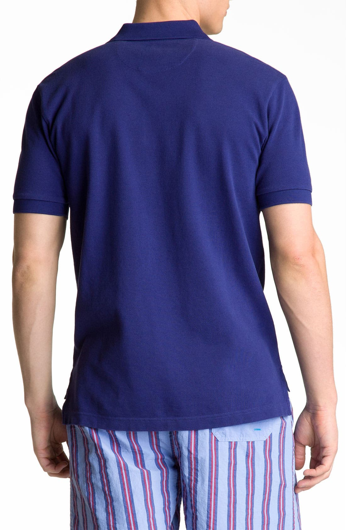 Alternate Image 2  - Brooks Brothers Washed Piqué Polo