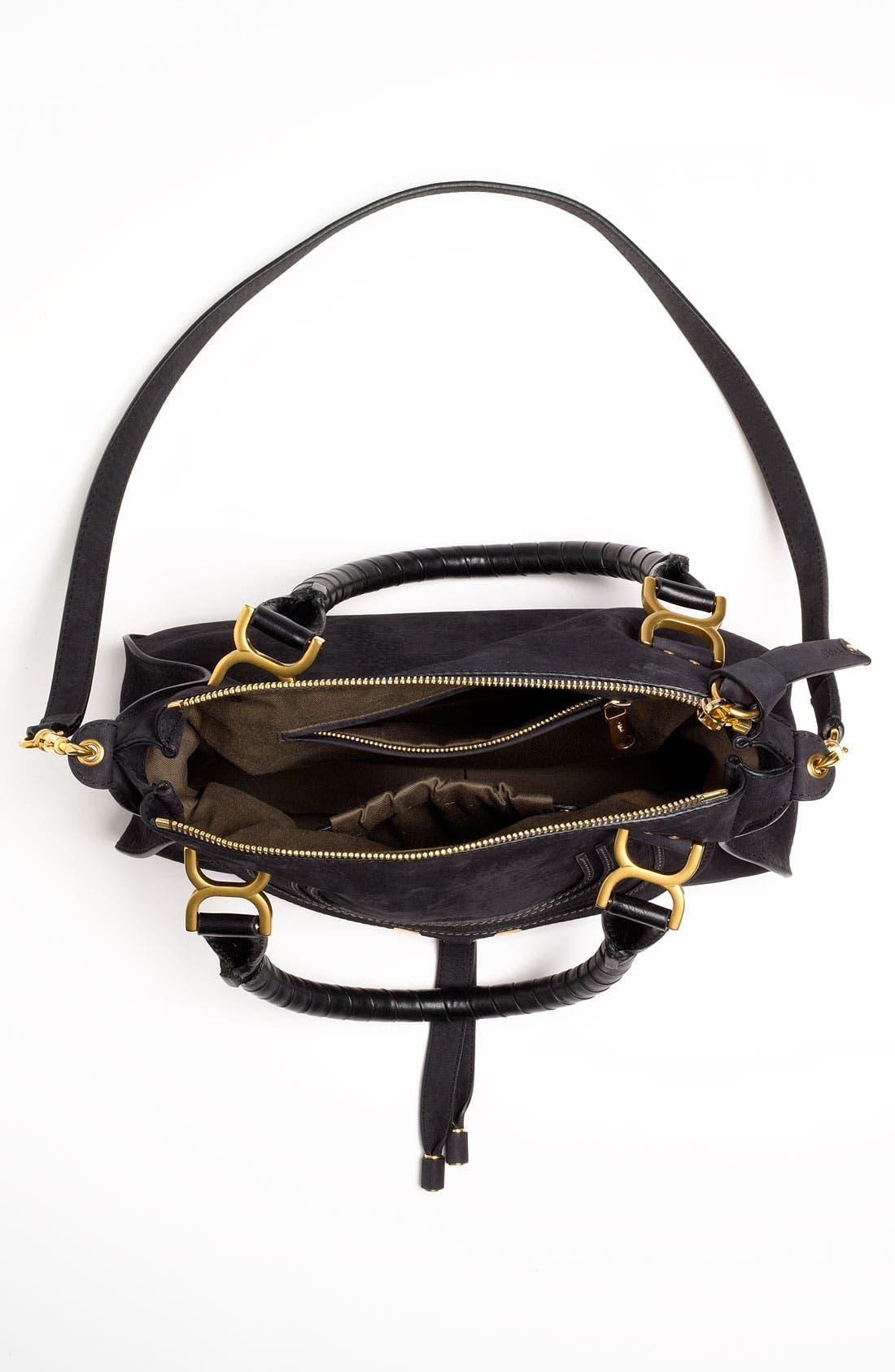 Alternate Image 3  - Chloé 'Marcie -Small' Nubuck Leather Shoulder Bag