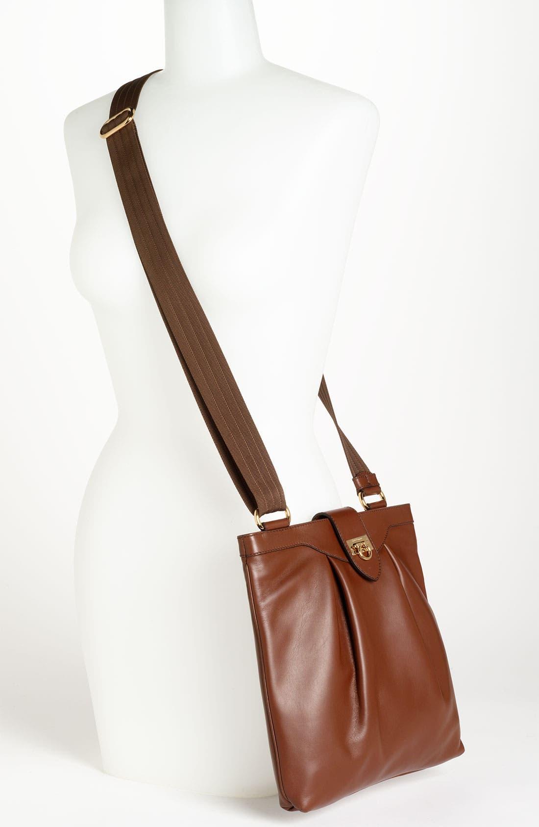 Alternate Image 2  - Salvatore Ferragamo 'Graziella' Leather Crossbody Bag