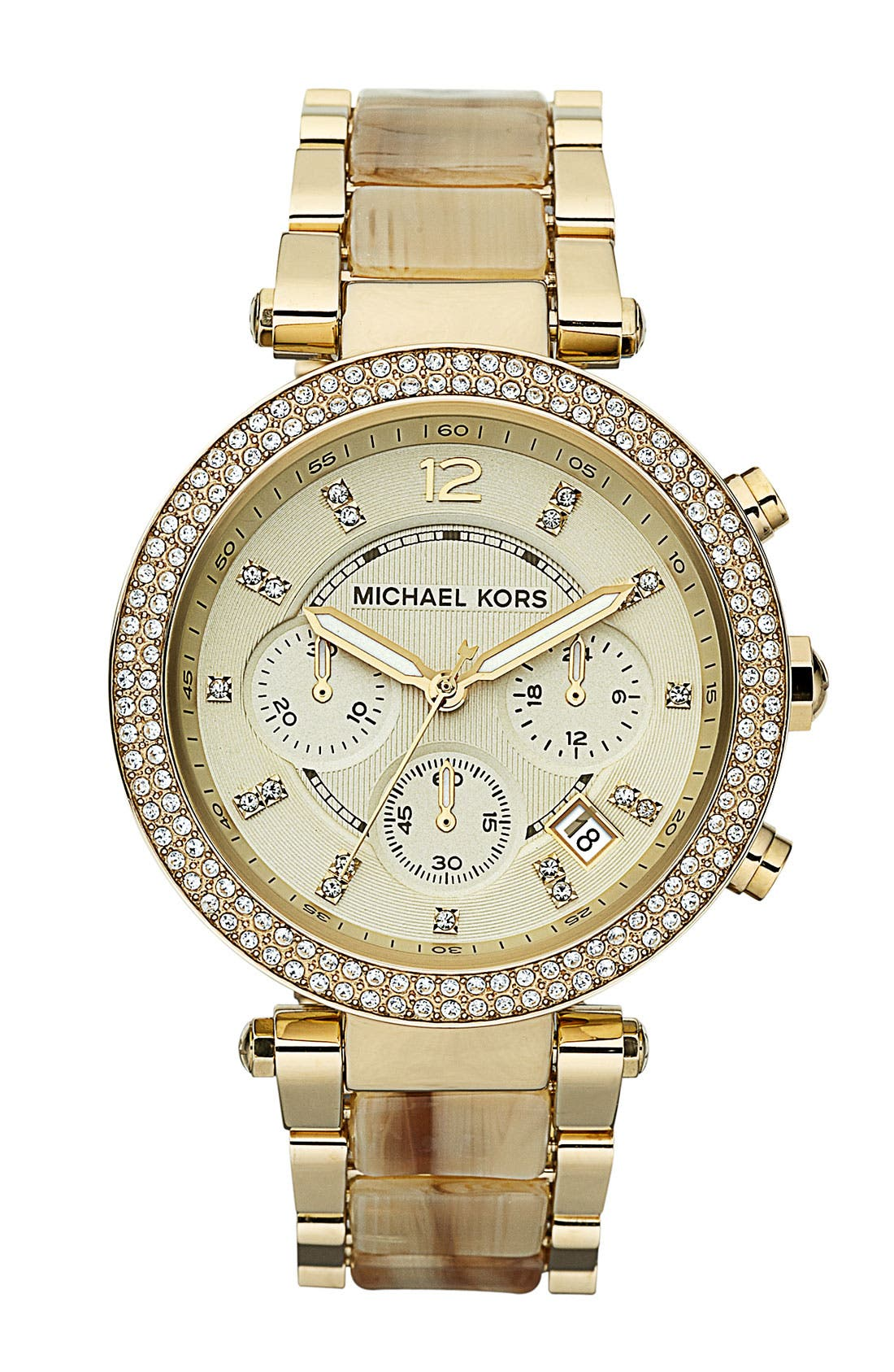Main Image - Michael Kors 'Parker' Chronograph Watch, 39mm