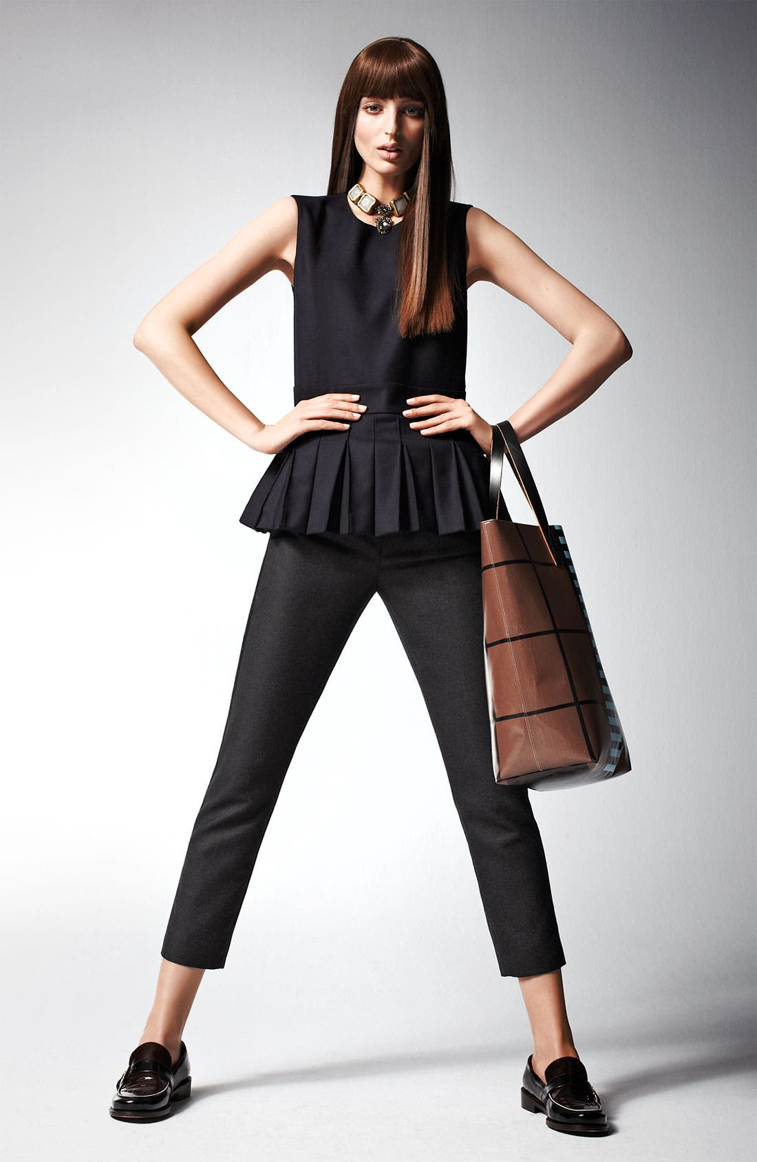 Alternate Image 5  - Marni Edition Pleat Front Sleeveless Top