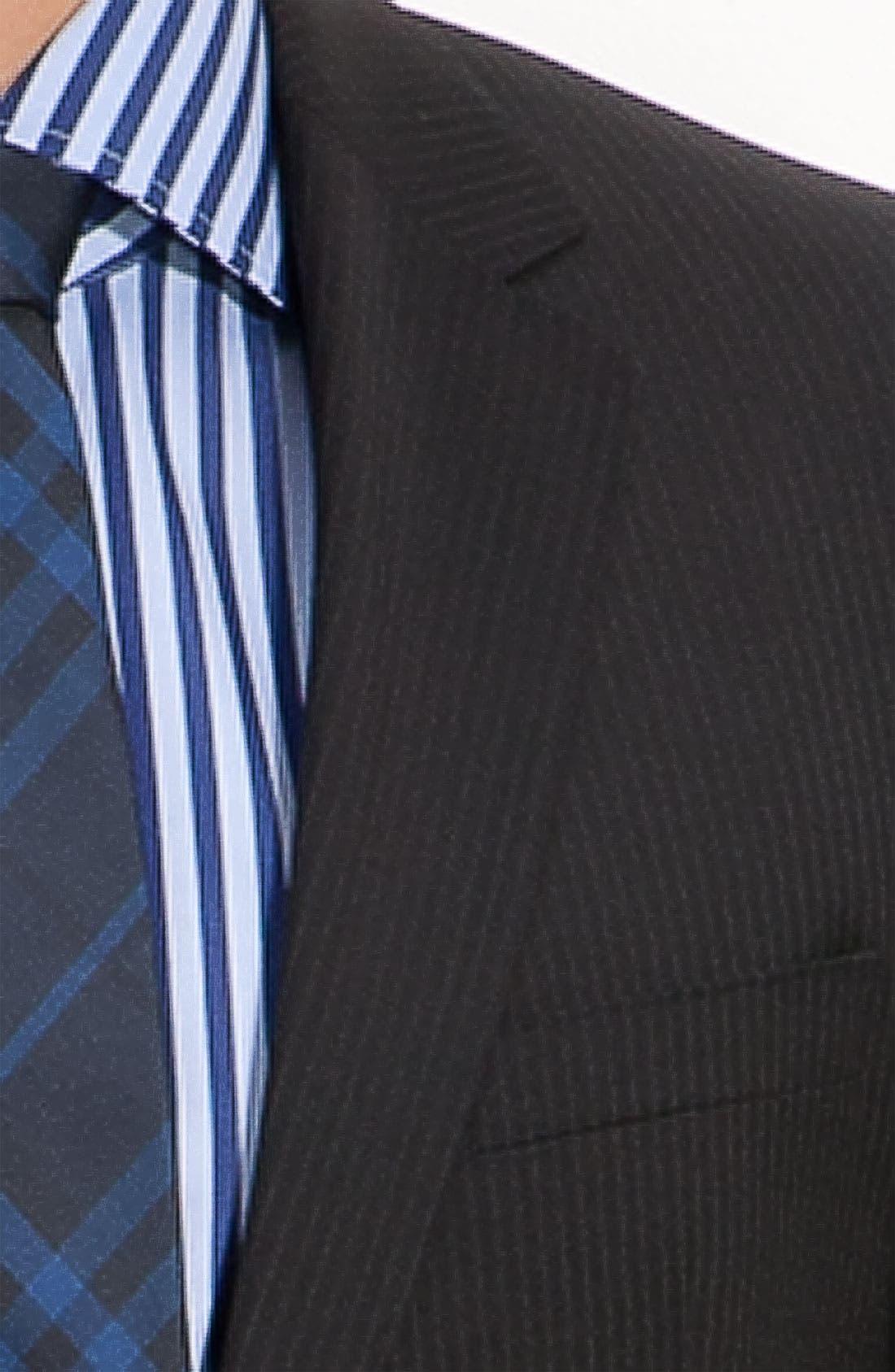 Alternate Image 6  - BOSS Black 'James/Sharp' Trim Fit Wool Suit