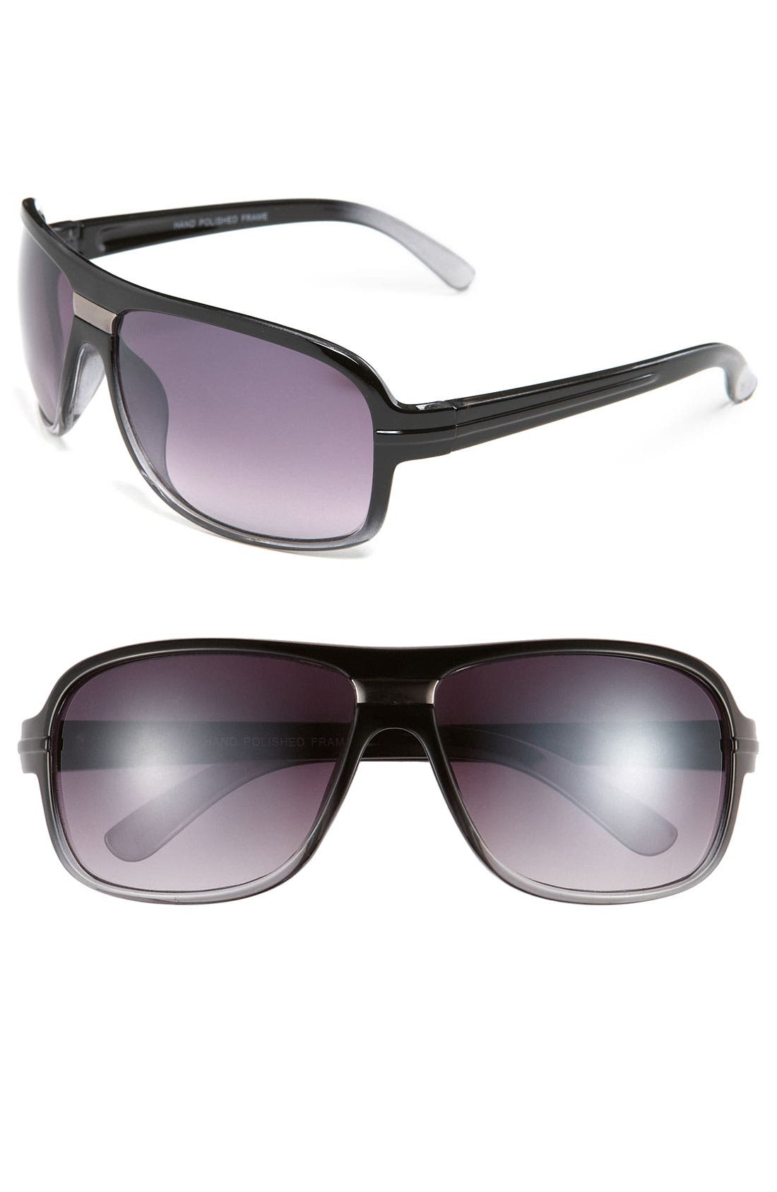 Alternate Image 1 Selected - KW 'Ron' 62mm Aviator Sunglasses