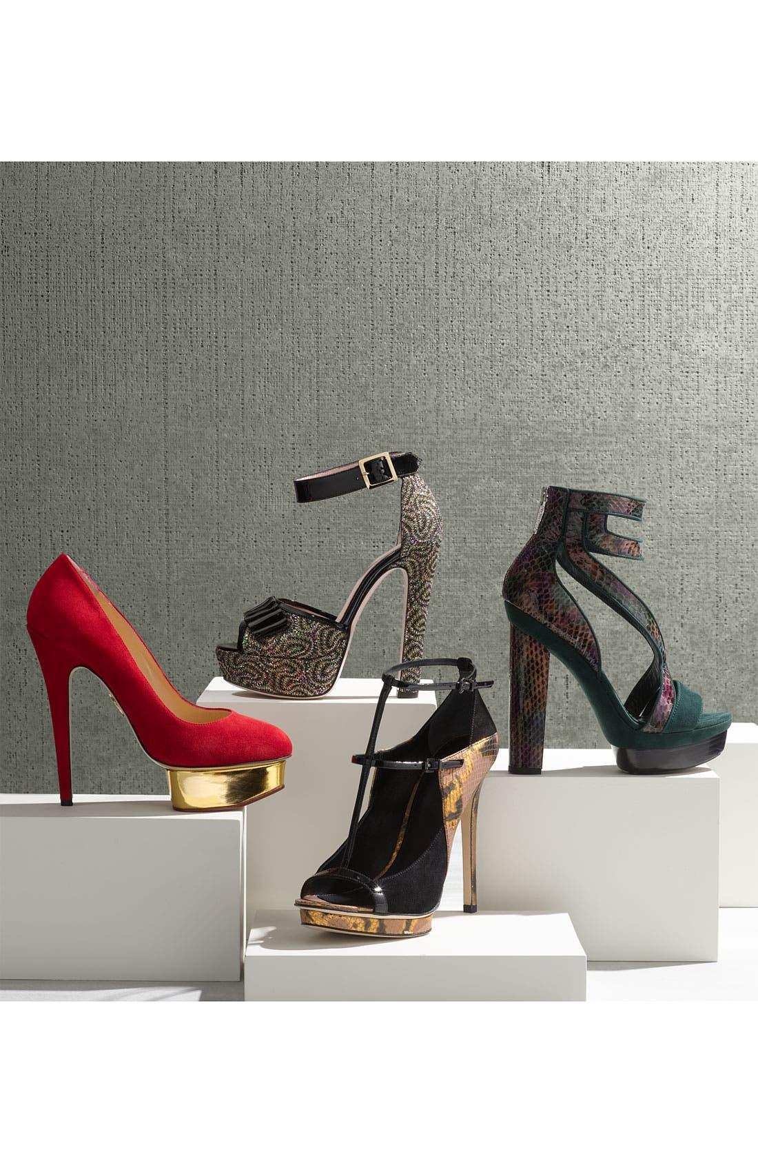 Alternate Image 5  - RED Valentino 'Criss Cross' Sandal