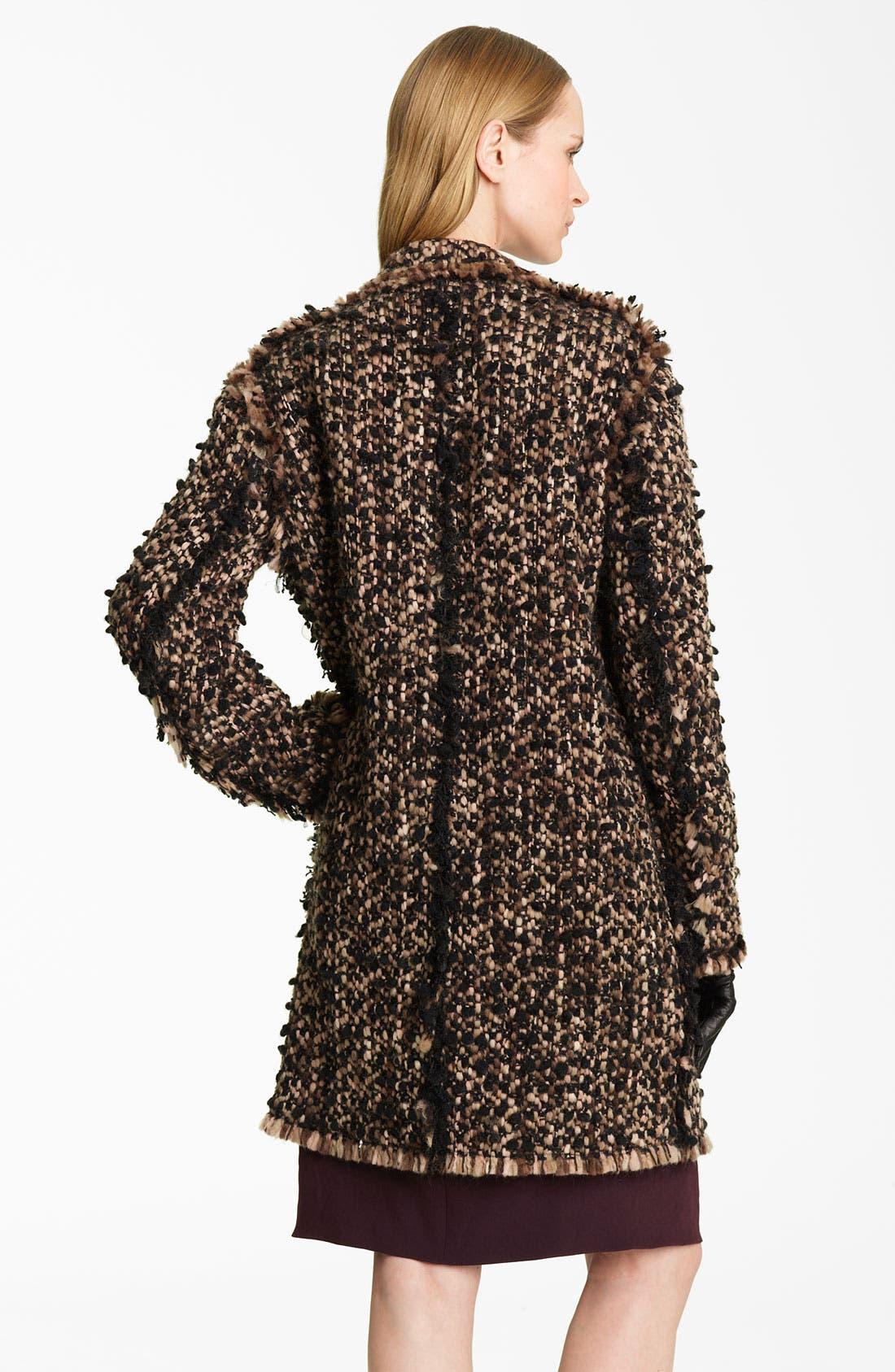 Alternate Image 2  - Lanvin 'Winter' Tweed Coat