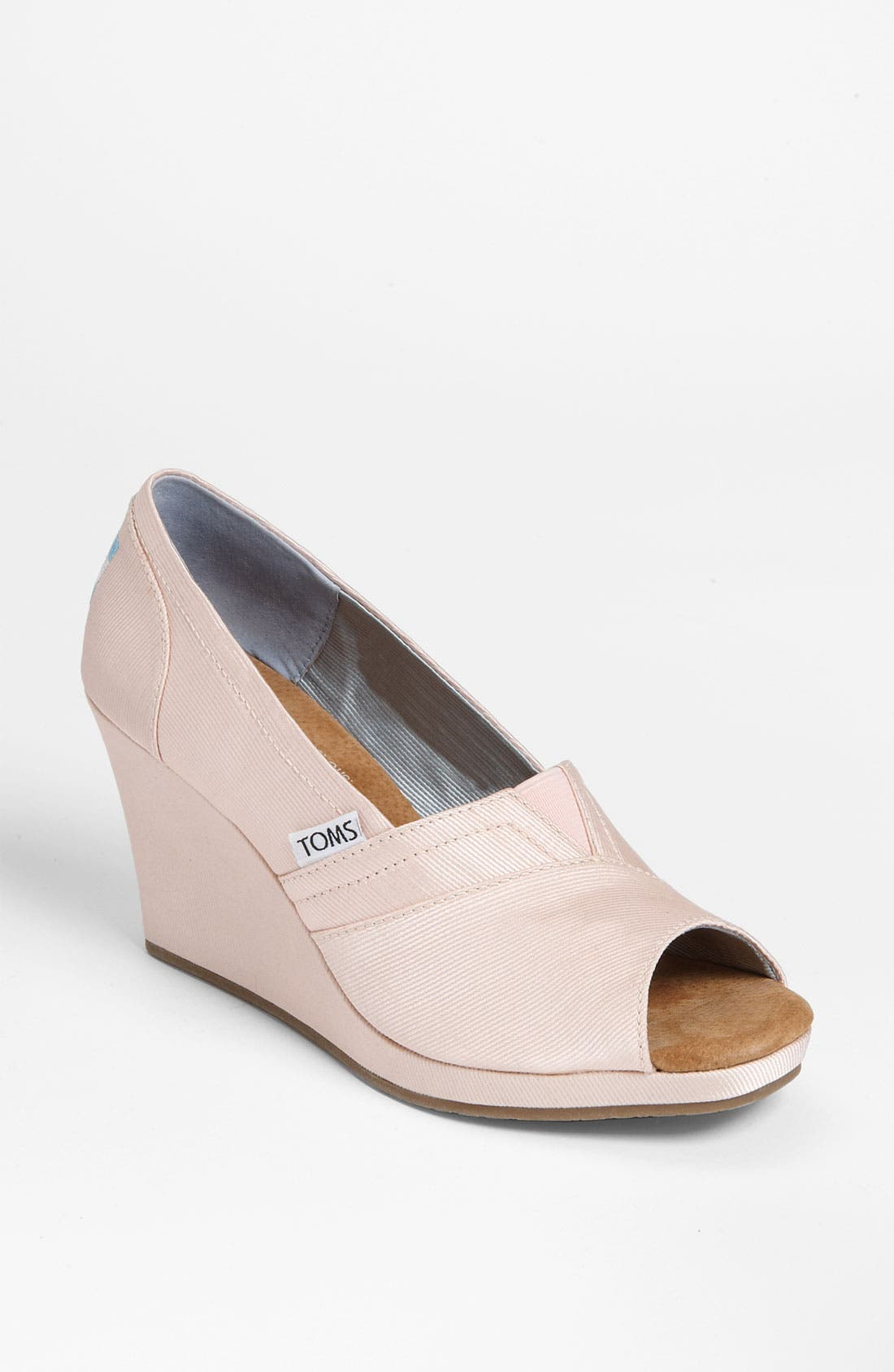 Main Image - TOMS Grosgrain Wedge (Women)