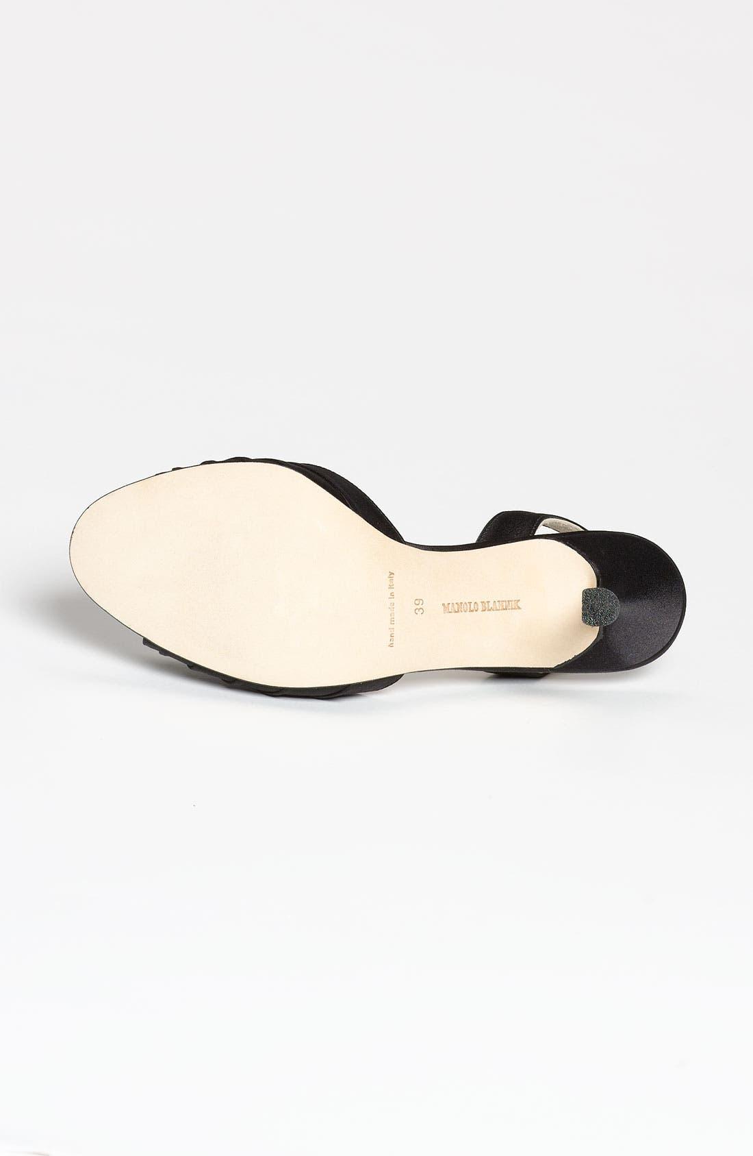 Alternate Image 4  - Manolo Blahnik 'Sedaraby' Embellished Slingback Sandal