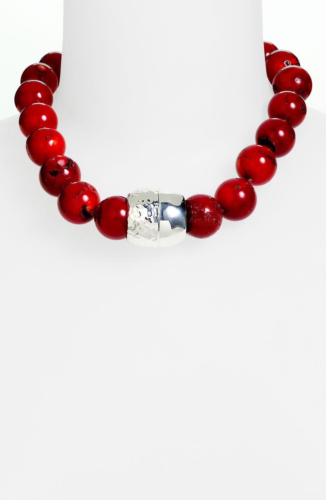 Alternate Image 1 Selected - Simon Sebbag Stone Bead Necklace
