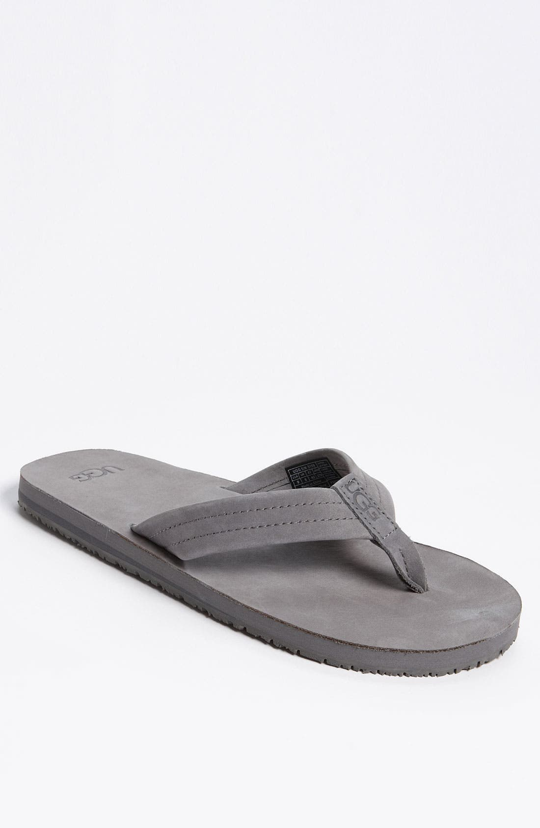 Alternate Image 1 Selected - UGG® Australia 'Camano' Flip Flop (Men)