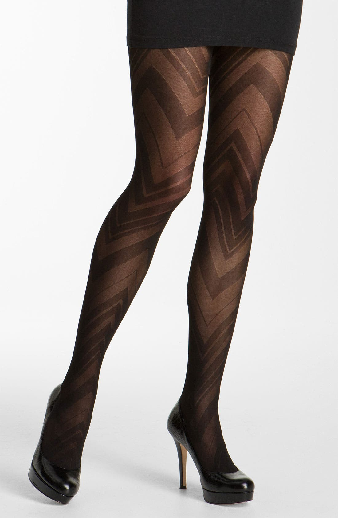Alternate Image 1 Selected - SPANX® 'Vortex - Tight End' Print Tights