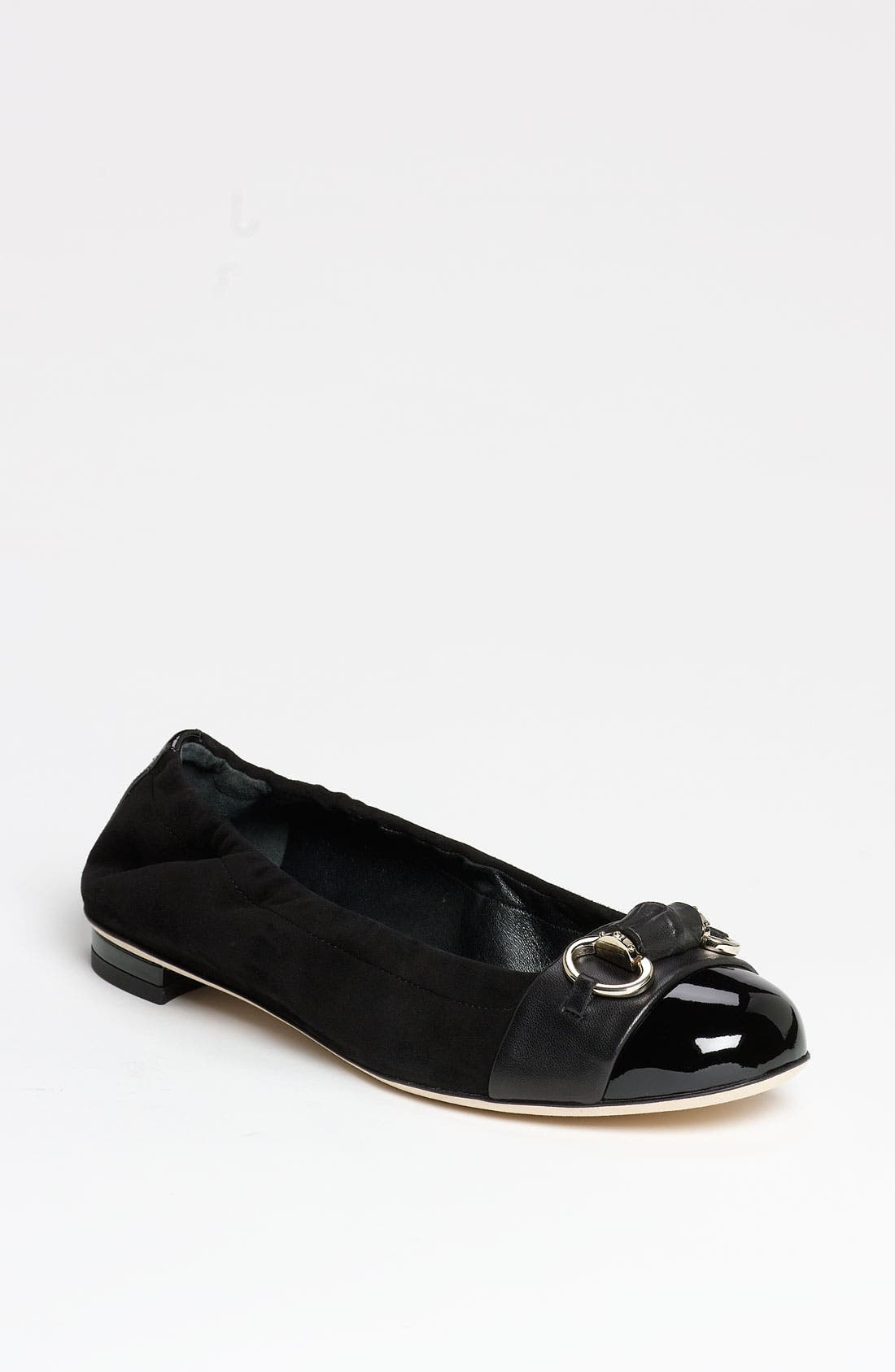 Alternate Image 1 Selected - Gucci 'Bamboo Bit' Ballet Flat