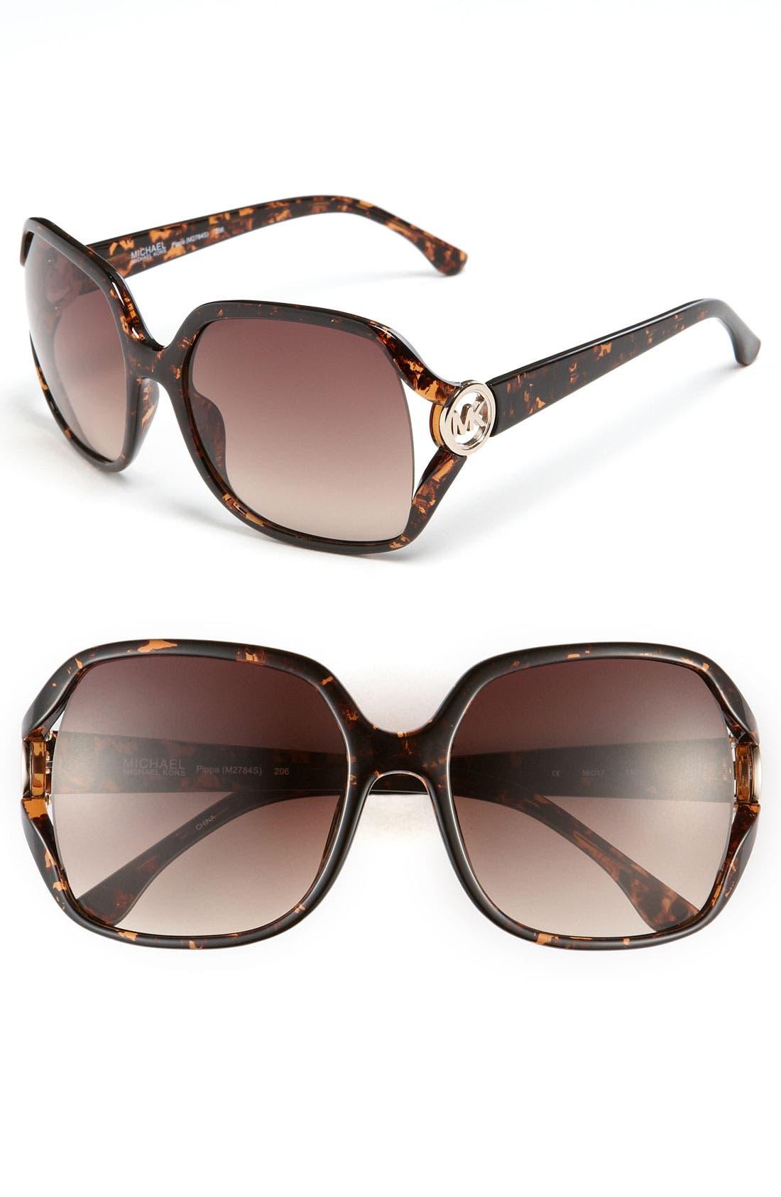 Main Image - MICHAEL Michael Kors 56mm Oversized Sunglasses