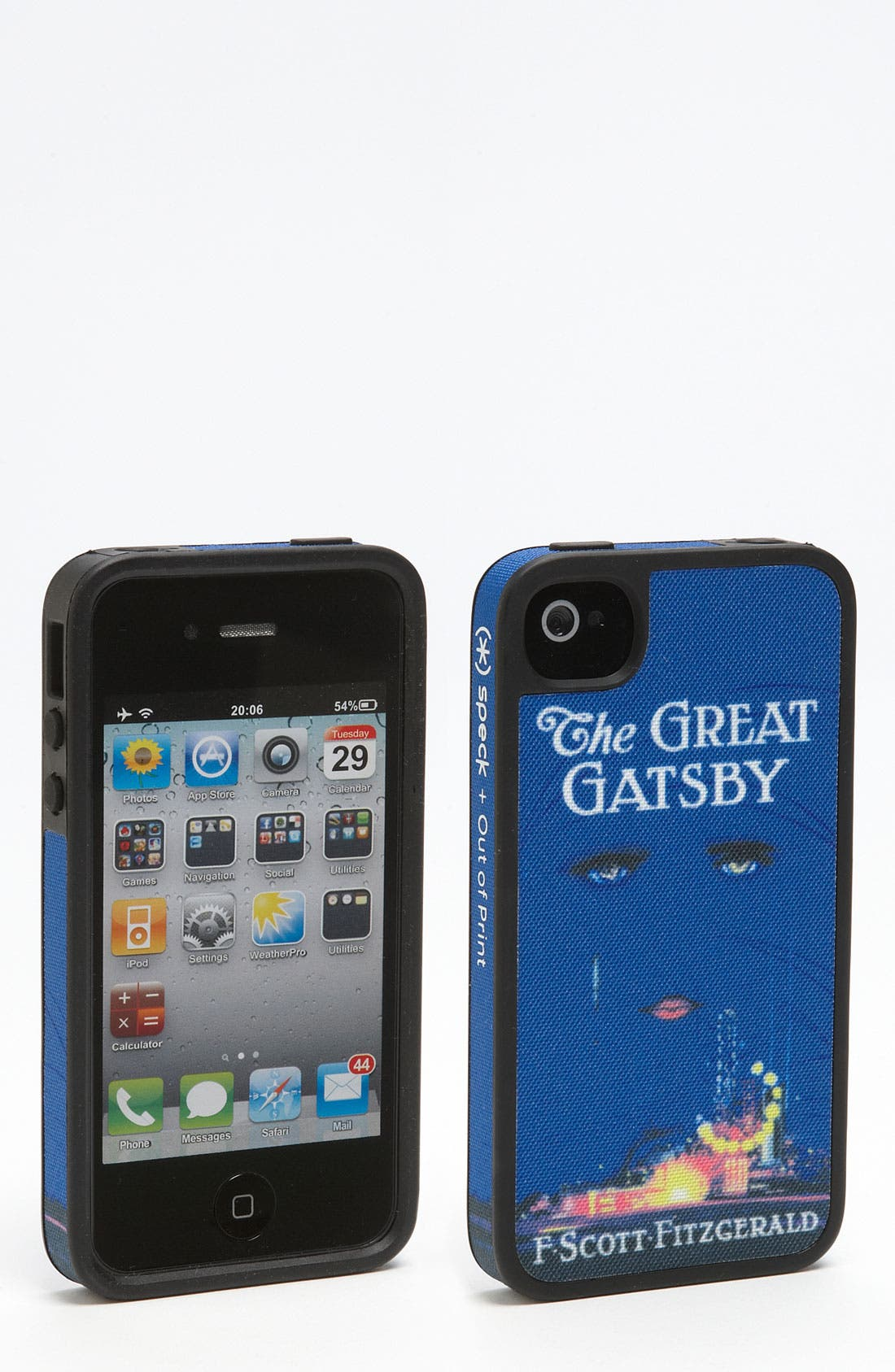 Alternate Image 1 Selected - Out of Print 'Great Gatsby' iPhone 4 & 4S Case