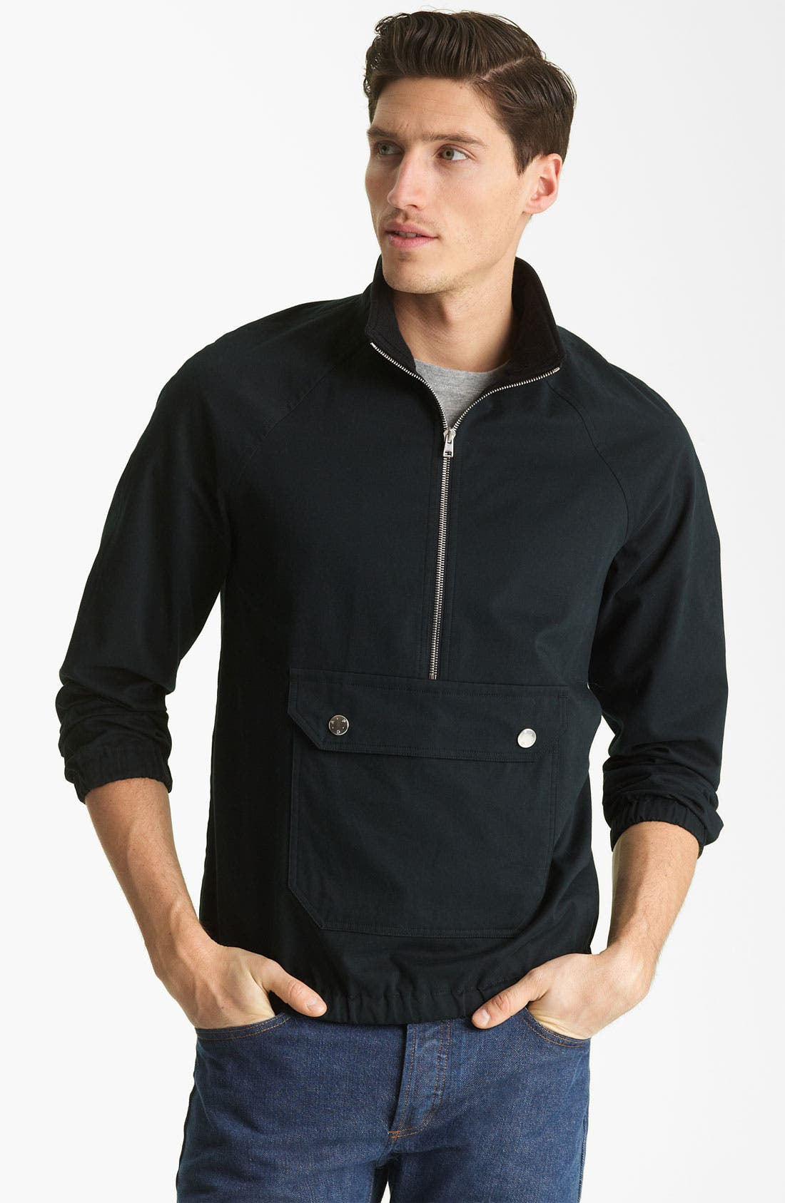Alternate Image 1 Selected - A.P.C. Bomber Pullover