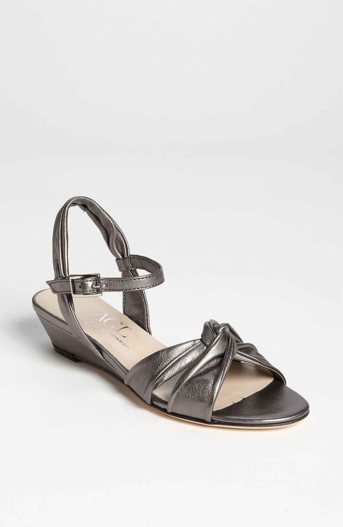 Main Image - Attilio Giusti Leombruni Mini Wedge Sandal