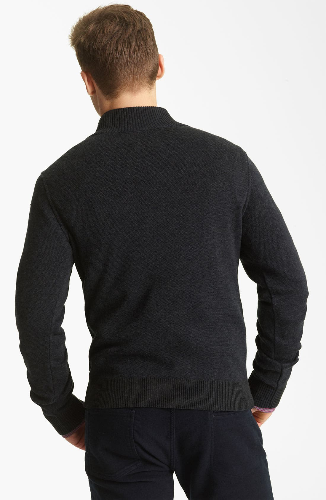 Alternate Image 2  - Billy Reid Half Zip Sweater