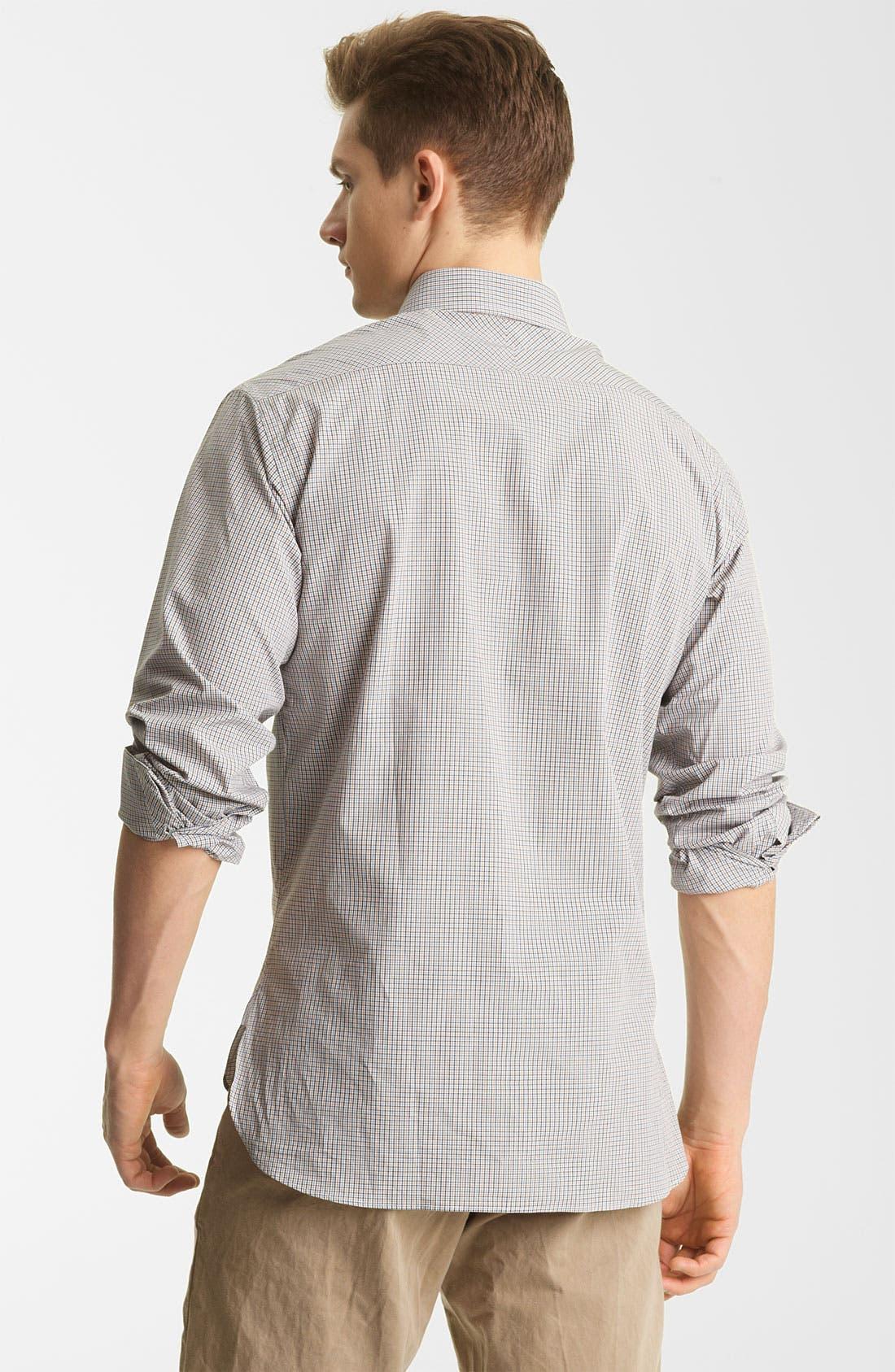 Alternate Image 2  - Billy Reid 'Rosedale' Micro Check Woven Shirt