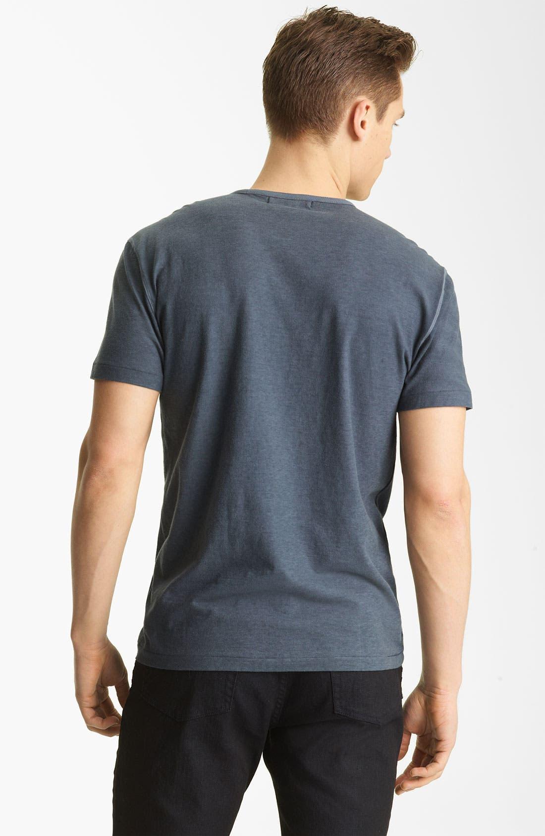 Alternate Image 2  - John Varvatos Collection Crewneck T-Shirt