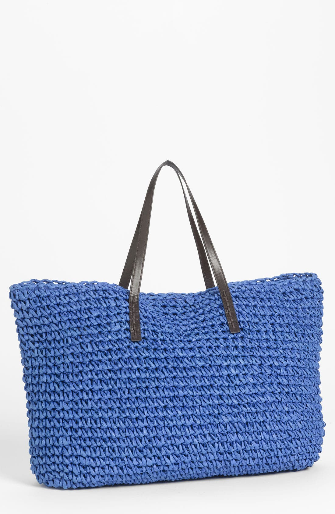 Alternate Image 1 Selected - Under One Sky Oversized Straw Tote
