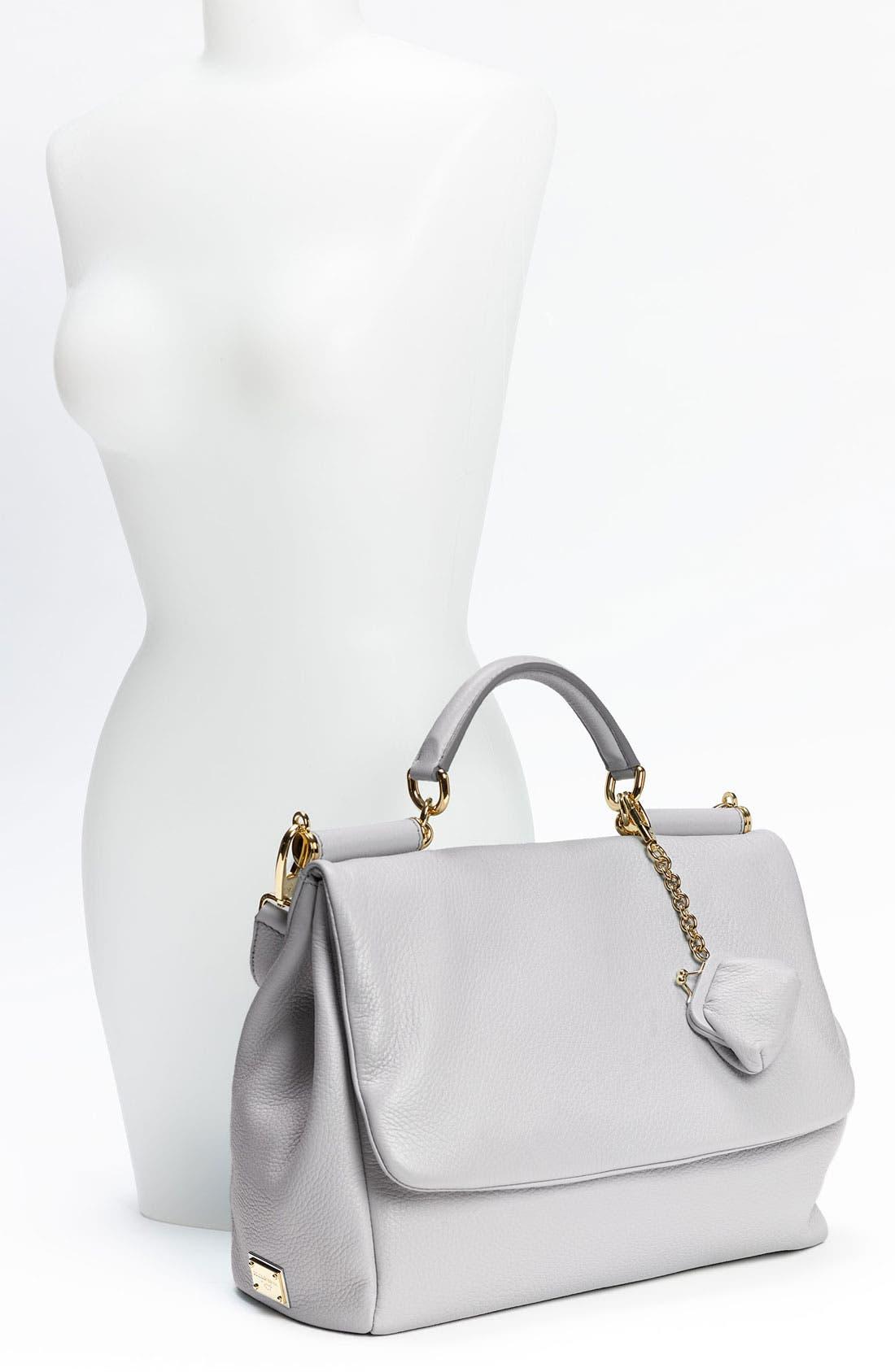 Alternate Image 2  - Dolce&Gabbana 'Miss Sicily Soft' Leather Satchel