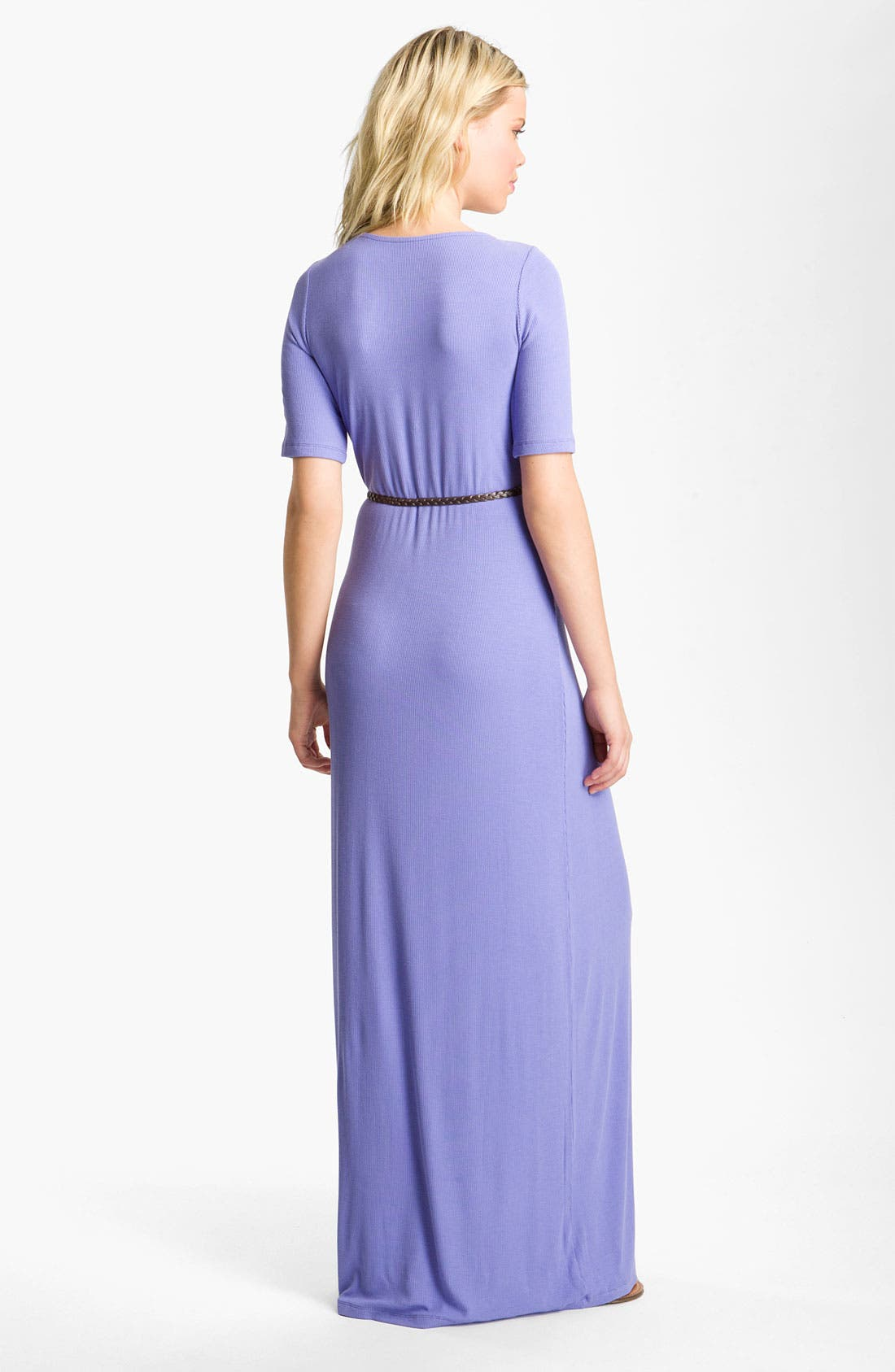 Alternate Image 2  - Felicity & Coco Belted Jersey Maxi Dress (Nordstrom Exclusive)