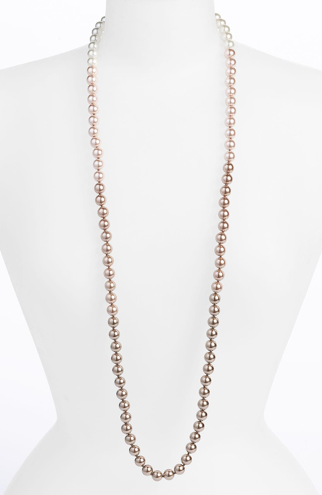 Alternate Image 1 Selected - Givenchy Ombré Pearl Continuous Long Necklace