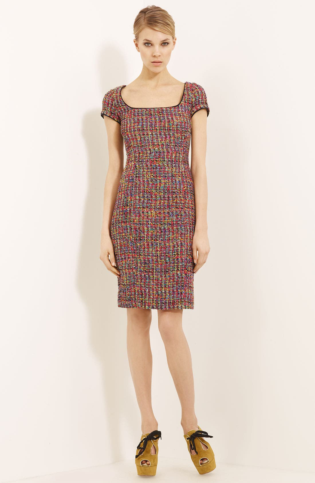 Alternate Image 1 Selected - Moschino Cheap & Chic Tweed Dress