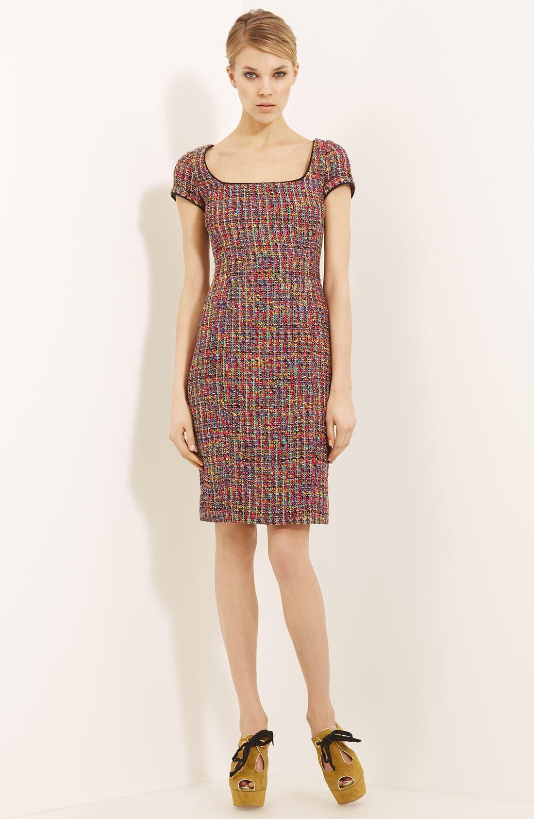 Main Image - Moschino Cheap & Chic Tweed Dress