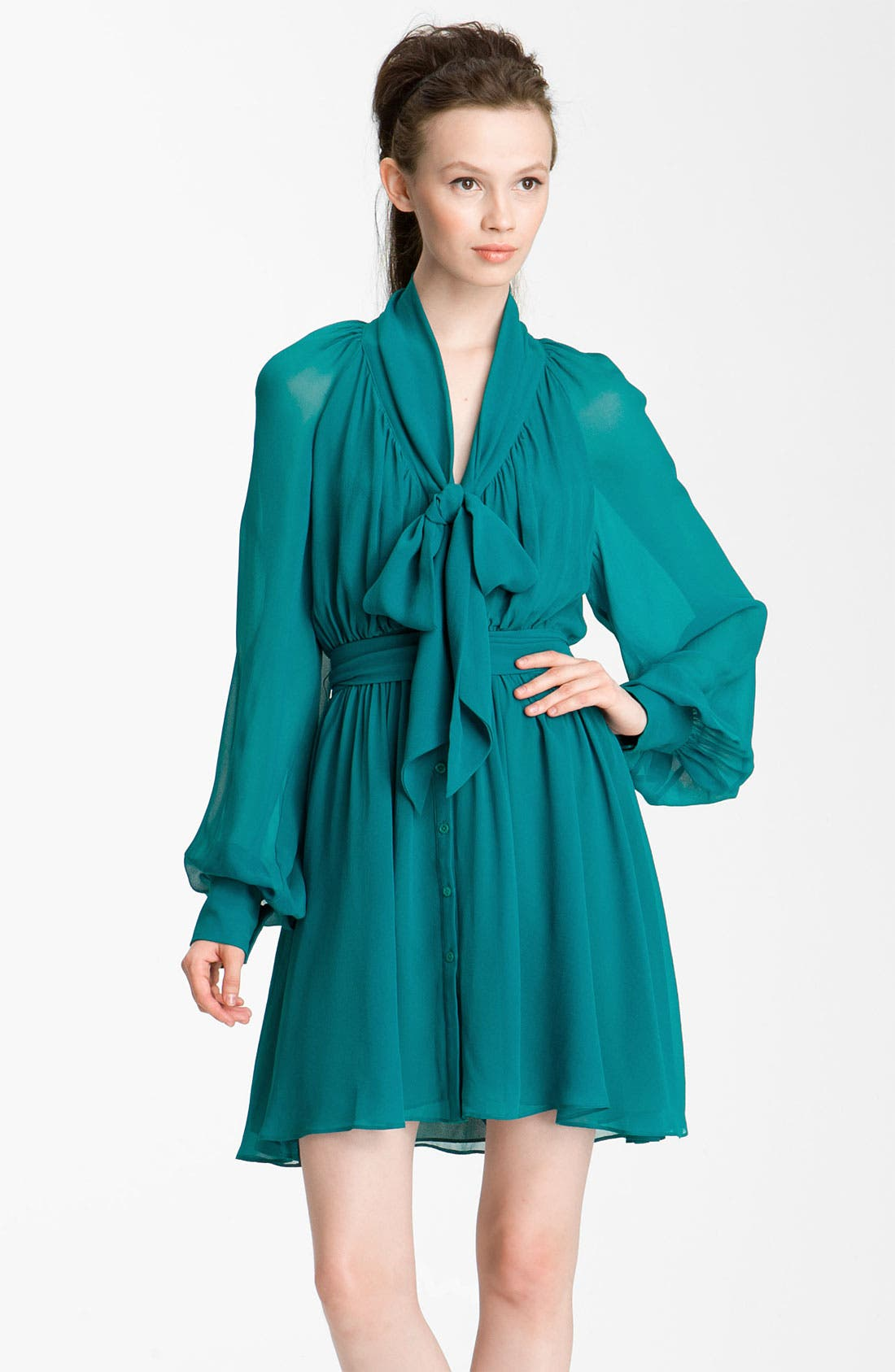 Alternate Image 1 Selected - Rachel Zoe 'Arielle' Bishop Sleeve Dress