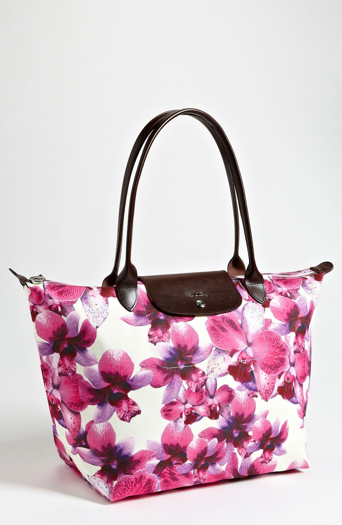 Alternate Image 1 Selected - Longchamp 'Orchideal - Large' Shoulder Bag