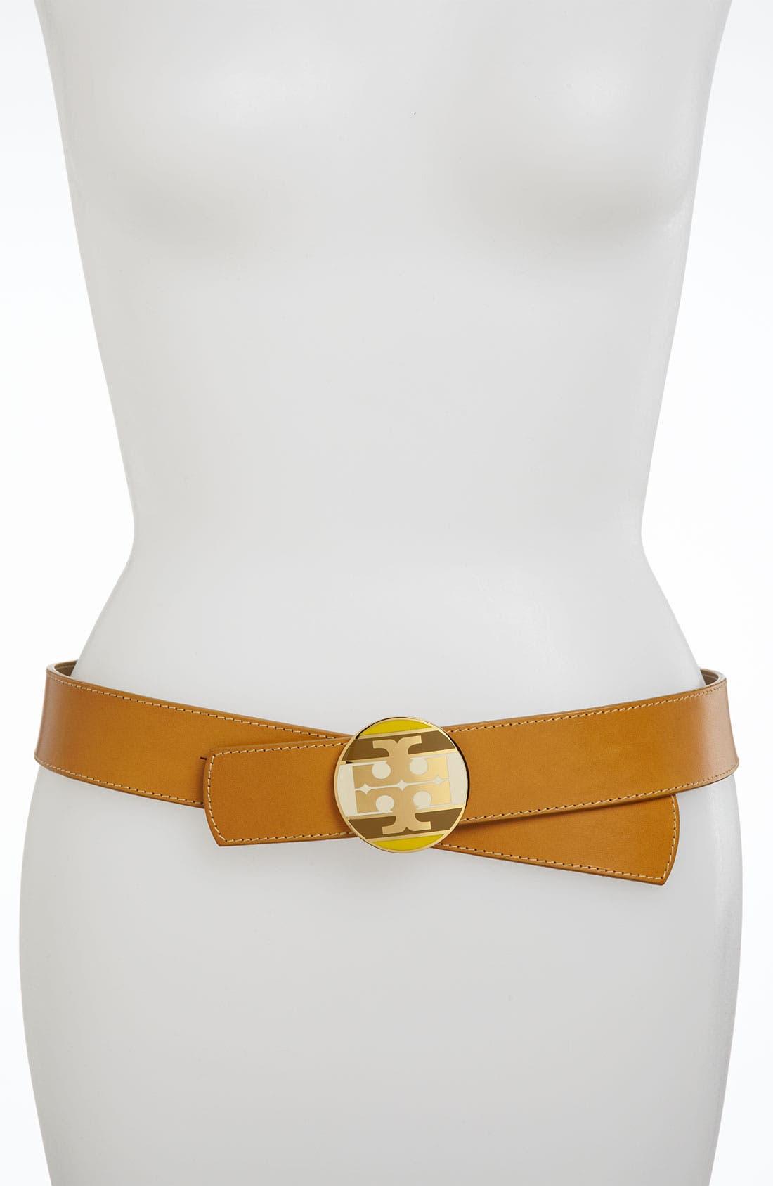 Alternate Image 1 Selected - Tory Burch Reversible Belt