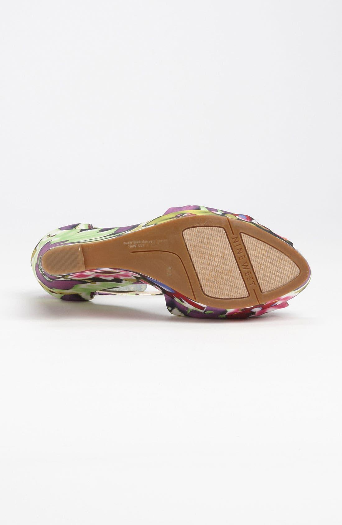 Alternate Image 4  - Nine West 'Letitgo' Sandal