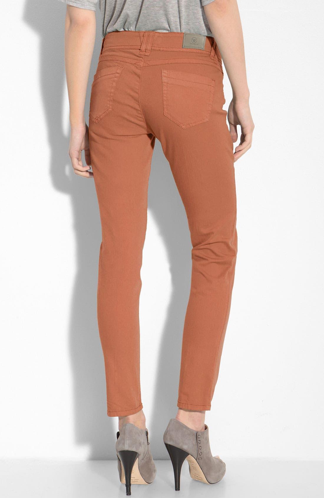 Alternate Image 2  - Wit & Wisdom Color Skinny Jeans (Nordstrom Exclusive)
