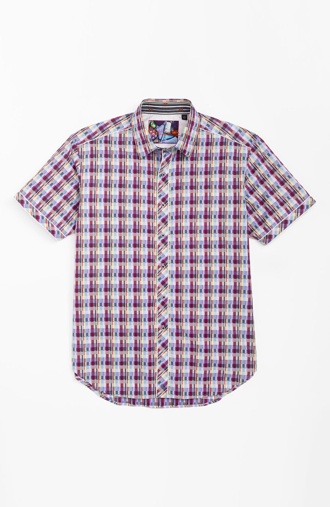Alternate Image 3  - Robert Graham 'Onset' Regular Fit Sport Shirt