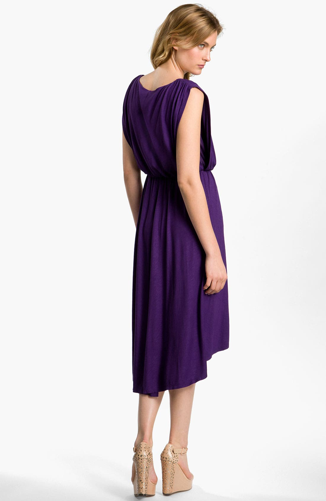 Alternate Image 2  - Vince Camuto Blouson Jersey Dress