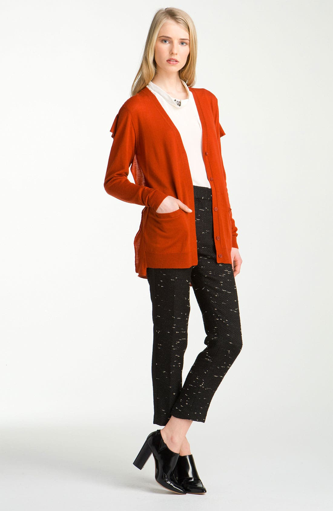 Alternate Image 1 Selected - 3.1 Phillip Lim Flat Back Panel Cardigan