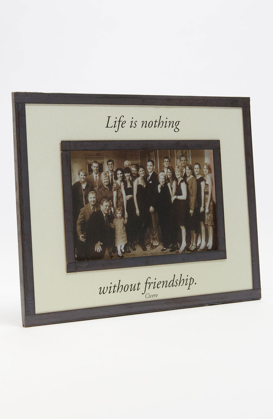 Main Image - Ben's Garden 'Friendship' Picture Frame (4x6)