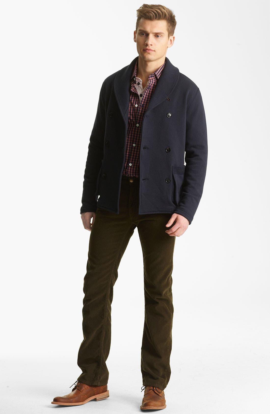 Alternate Image 5  - Billy Reid 'Watson' Shawl Collar Cardigan
