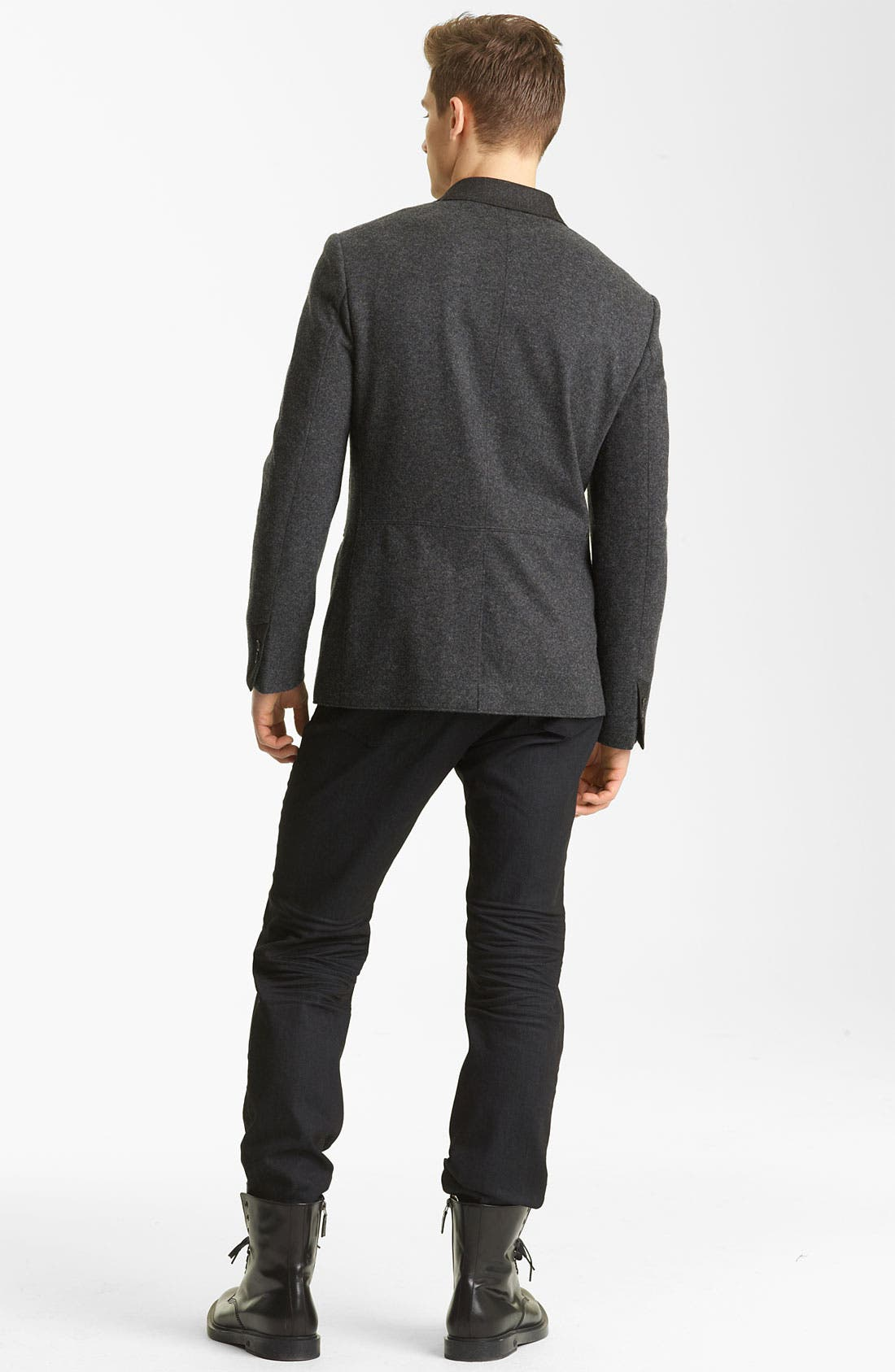 Alternate Image 5  - John Varvatos Collection Wool Knit Henley